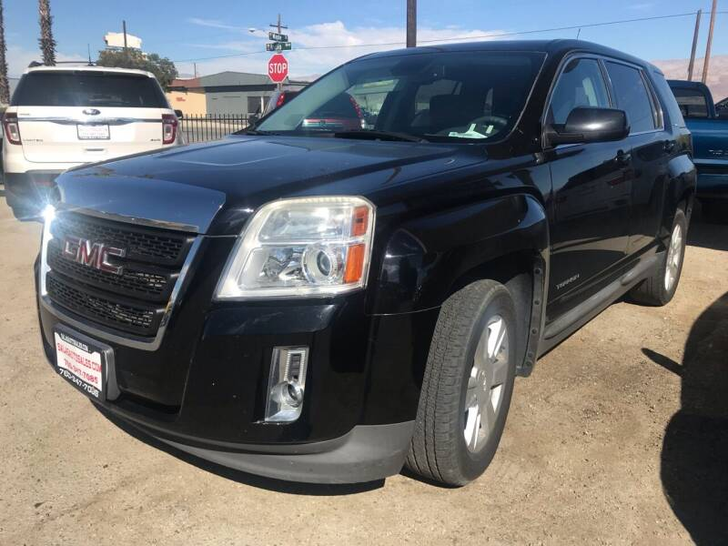 2013 GMC Terrain for sale at Salas Auto Group in Indio CA