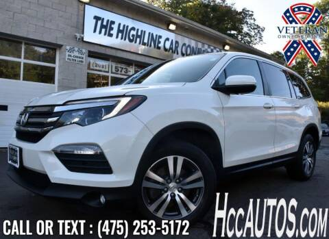 2018 Honda Pilot for sale at The Highline Car Connection in Waterbury CT