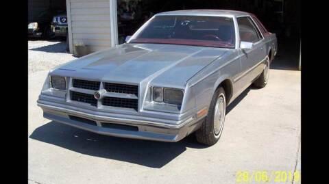 1982 Chrysler Cordoba for sale at Waltz Sales LLC in Gap PA