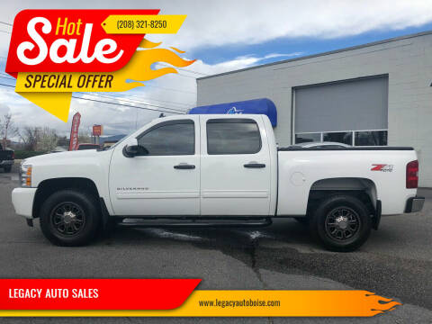 2010 Chevrolet Silverado 1500 for sale at LEGACY AUTO SALES in Boise ID