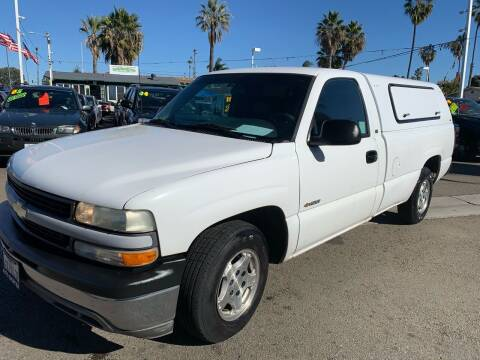 2002 Chevrolet Silverado 1500 for sale at North County Auto in Oceanside CA