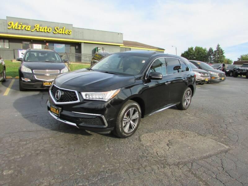 2018 Acura MDX for sale at MIRA AUTO SALES in Cincinnati OH