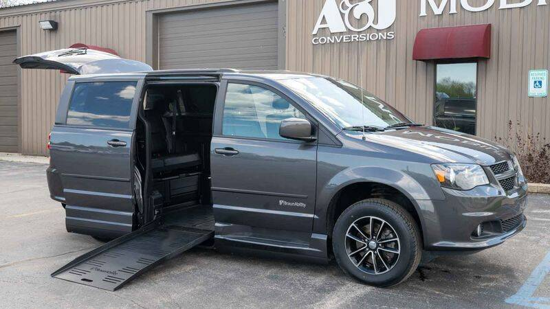2017 Dodge Grand Caravan for sale at A&J Mobility in Valders WI