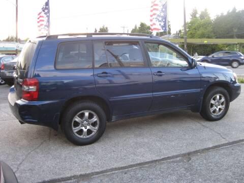 2005 Toyota Highlander for sale at UNIVERSITY MOTORSPORTS in Seattle WA