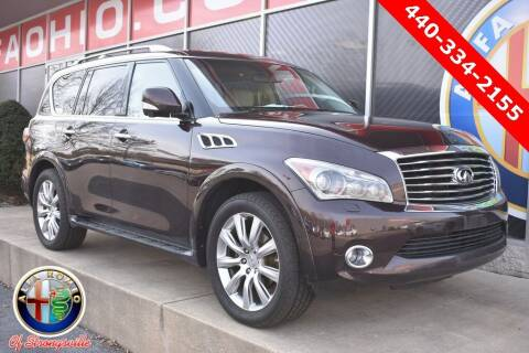 2011 Infiniti QX56 for sale at Alfa Romeo & Fiat of Strongsville in Strongsville OH