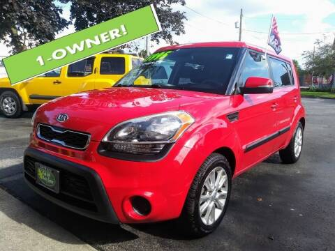 2012 Kia Soul for sale at Oak Hill Auto Sales of Wooster, LLC in Wooster OH