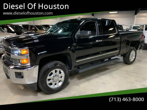 2015 Chevrolet Silverado 2500HD for sale at Diesel Of Houston in Houston TX