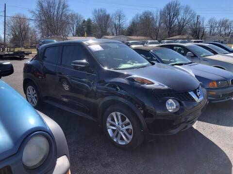 2015 Nissan JUKE for sale at Cars Across America in Republic MO