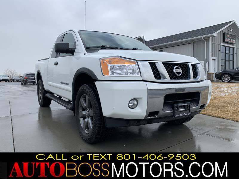 2015 Nissan Titan for sale at Auto Boss in Woodscross UT