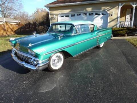 1958 Chevrolet Impala for sale at Classic Car Deals in Cadillac MI