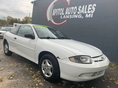 2003 Chevrolet Cavalier for sale at Capitol Auto Sales in Lansing MI