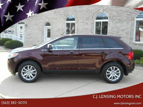 2011 Ford Edge for sale at C.J. Lensing Motors Inc in Decorah IA