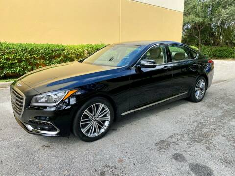 2018 Genesis G80 for sale at DENMARK AUTO BROKERS in Riviera Beach FL