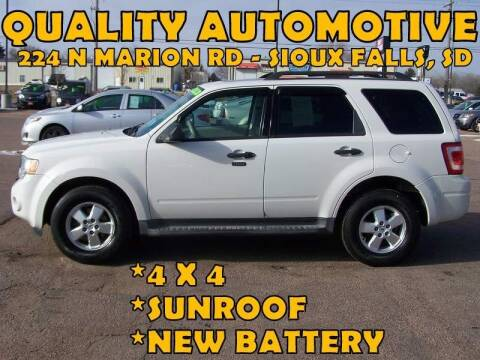 2009 Ford Escape for sale at Quality Automotive in Sioux Falls SD
