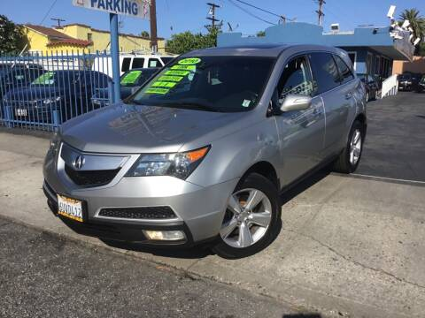 2010 Acura MDX for sale at LA PLAYITA AUTO SALES INC in South Gate CA