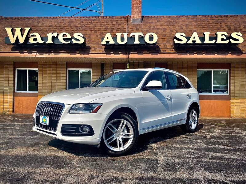 2016 Audi Q5 for sale at Wares Auto Sales INC in Traverse City MI