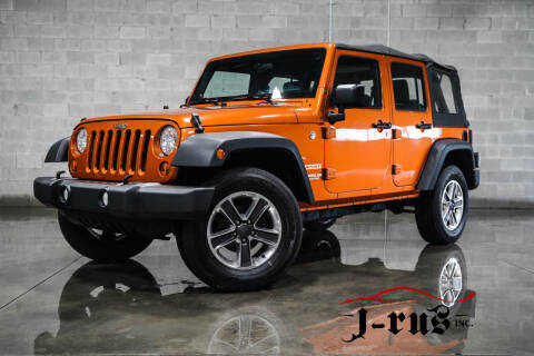 2011 Jeep Wrangler Unlimited for sale at J-Rus Inc. in Macomb MI