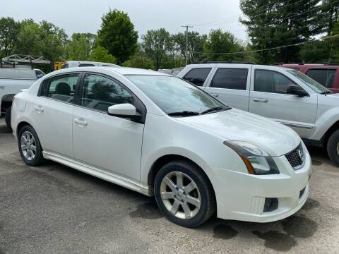 2012 Nissan Sentra for sale at D & M Auto Sales & Repairs INC in Kerhonkson NY
