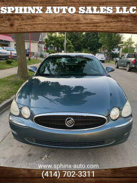 2006 Buick LaCrosse for sale at Sphinx Auto Sales LLC in Milwaukee WI