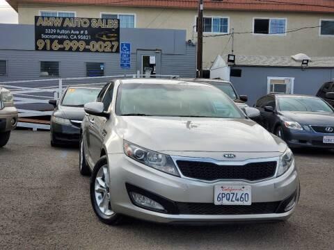 2011 Kia Optima for sale at AMW Auto Sales in Sacramento CA
