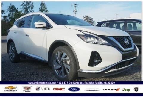 2020 Nissan Murano for sale at WHITE MOTORS INC in Roanoke Rapids NC