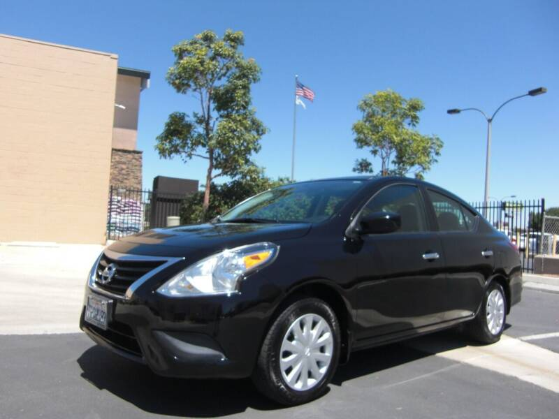 2015 Nissan Versa for sale at J'S MOTORS in San Diego CA
