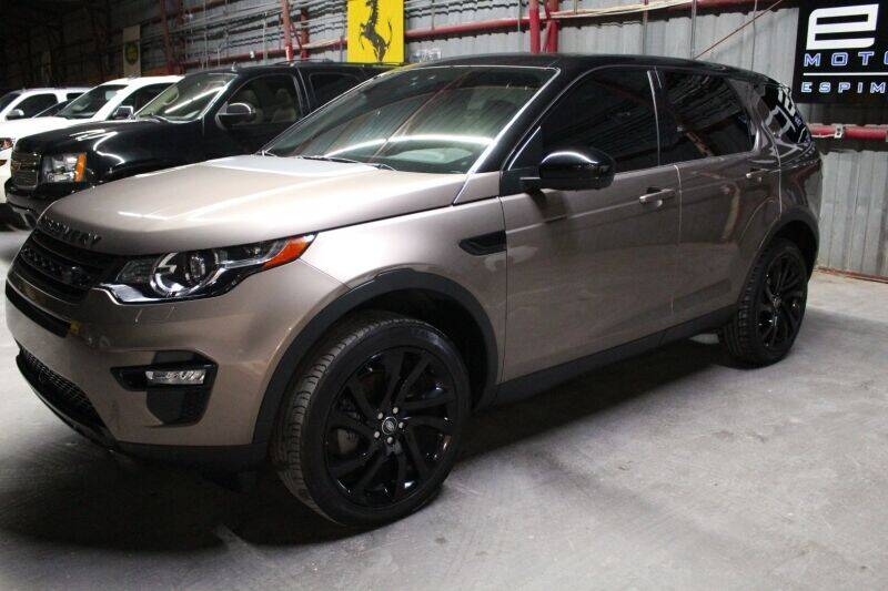 2016 Land Rover Discovery Sport for sale at ESPI Motors in Houston TX
