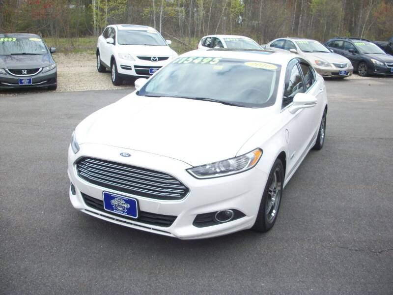2016 Ford Fusion Energi for sale at Auto Images Auto Sales LLC in Rochester NH