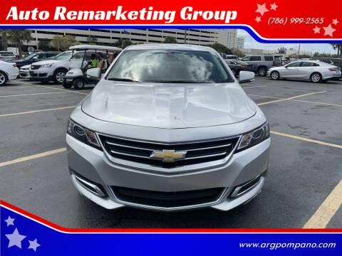 2017 Chevrolet Impala for sale at Auto Remarketing Group in Pompano Beach FL