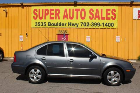 2005 Volkswagen Jetta for sale at Super Auto Sales in Las Vegas NV