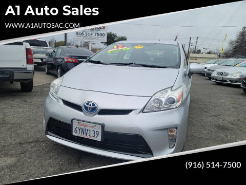 2012 Toyota Prius for sale at A1 Auto Sales in Sacramento CA
