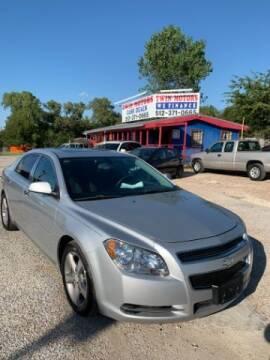 2012 Chevrolet Malibu for sale at Twin Motors in Austin TX