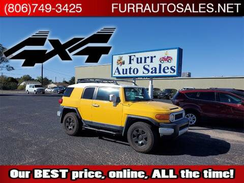 2007 Toyota FJ Cruiser for sale at FURR AUTO SALES in Lubbock TX