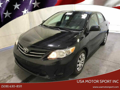 2013 Toyota Corolla for sale at USA Motor Sport inc in Marlborough MA