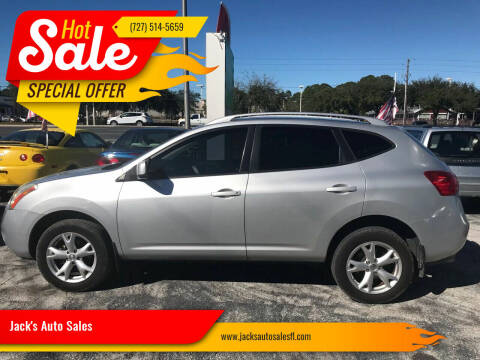 2009 Nissan Rogue for sale at Jack's Auto Sales in Port Richey FL