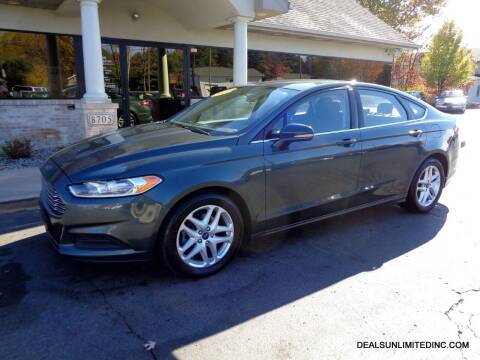 2015 Ford Fusion for sale at DEALS UNLIMITED INC in Portage MI