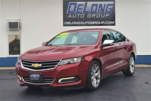 2015 Chevrolet Impala for sale at DeLong Auto Group in Tipton IN