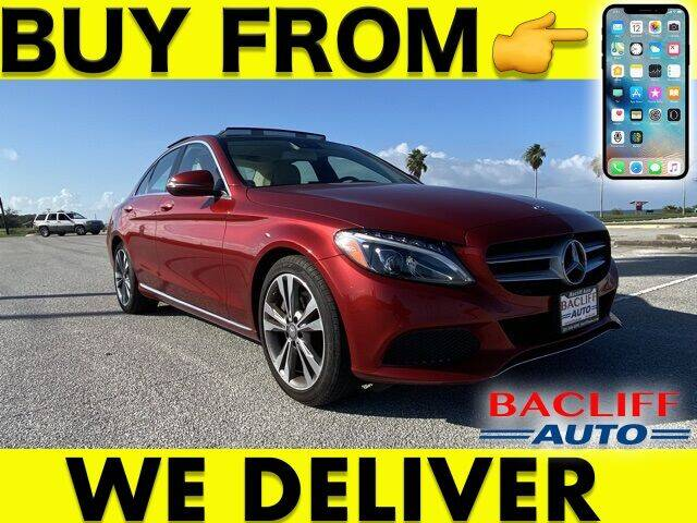 2016 Mercedes-Benz C-Class for sale at Bacliff Auto in Bacliff TX