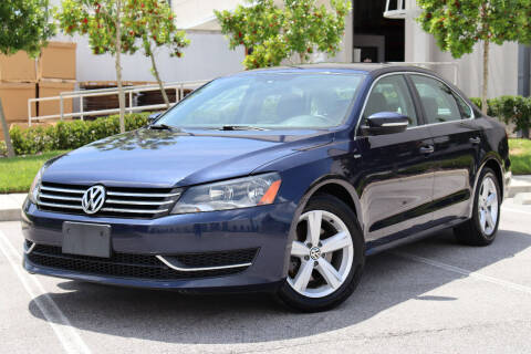 2014 Volkswagen Passat for sale at Carpros Auto Sales in Largo FL