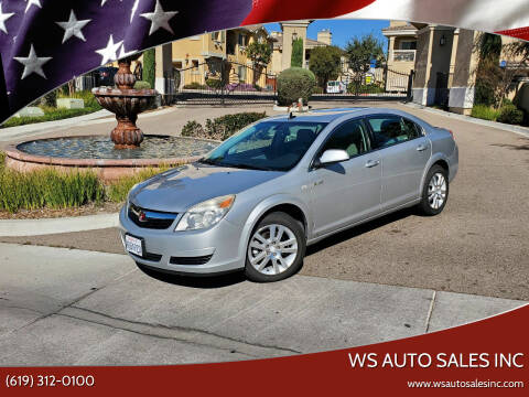 2009 Saturn Aura for sale at WS AUTO SALES INC in El Cajon CA