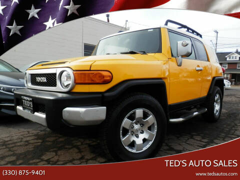 2007 Toyota FJ Cruiser for sale at Ted's Auto Sales in Louisville OH