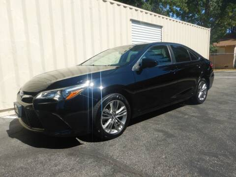 2017 Toyota Camry for sale at California Cadillac & Collectibles in Los Angeles CA
