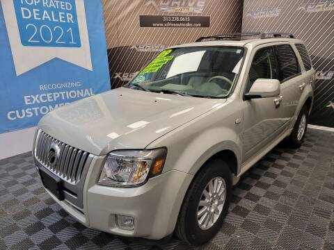 2009 Mercury Mariner for sale at X Drive Auto Sales Inc. in Dearborn Heights MI