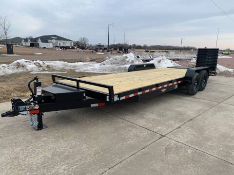 2021 H&H Industrial 8220+4 EQ #8755 for sale at Prairie Wind Trailers, LLC in Harrisburg SD