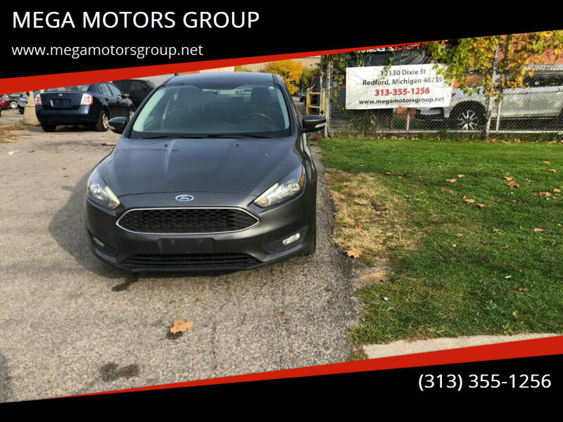 2015 Ford Focus for sale at MEGA MOTORS GROUP in Redford MI
