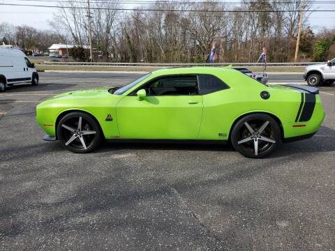 2015 Dodge Challenger for sale at CANDOR INC in Toms River NJ