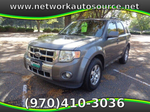 2011 Ford Escape for sale at Network Auto Source in Loveland CO