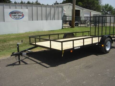 2021 CARRY ON 7 X 14 GW for sale at Midwest Trailer Sales & Service in Agra KS