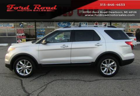 2013 Ford Explorer for sale at Ford Road Motor Sales in Dearborn MI