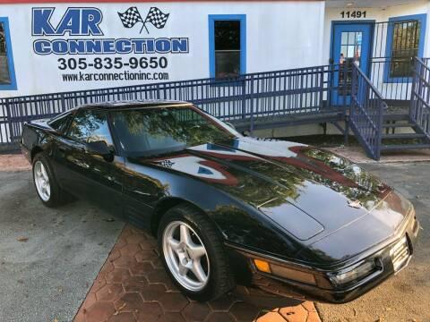 1992 Chevrolet Corvette for sale at Kar Connection in Miami FL